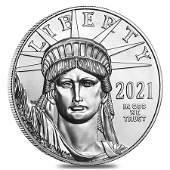 2021 1 oz Platinum American Eagle $100 Coin BU