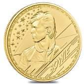 2021 Great Britain 1 oz Gold Music Legends David Bowie
