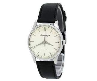 Authentic IWC Schaffhausen Cal.853 Self-Winding Leather