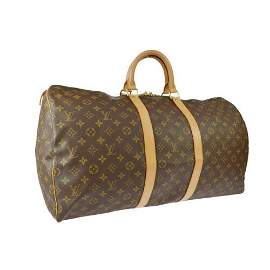 Authentic LOUIS VUITTON KEEPALL 55 TRAVEL HAND BAG