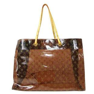 Authentic LOUIS VUITTON CABAS CRUISE HAND TOTE BAG