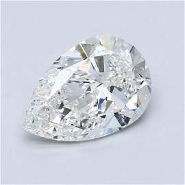 Loose Diamond - PEAR 2.71 SI1 VG D