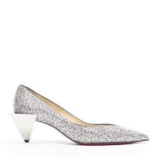 Authentic CHRISTIAN LOUBOUTIN Galaxister 55 strass