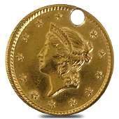 $1 Gold Liberty Head - Holed (Random Year)