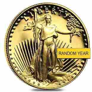 1/4 oz Proof Gold American Eagle In Cap (Random Year)