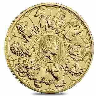 2021 Great Britain 1 oz Gold Queen's Beasts Completer