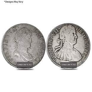 Mexico Spanish Colony 8 Reales Ferdinand VII Silver