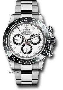 Authentic Rolex Daytona White Dial 116500ln w Like New