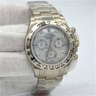 Authentic Rolex Daytona White Gold - Bracelet 116509