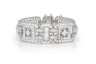 Authentic Beautiful Diamond Link Bracelet