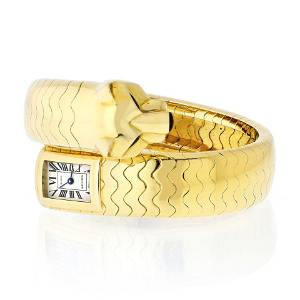 Authentic Cartier Panthere 18K Yellow Gold Wrap-Around