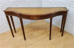 Chippendale Maitland Smith Carved Serpentine Console