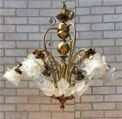 Antique French Art Deco Marc Lalique Style Venetian