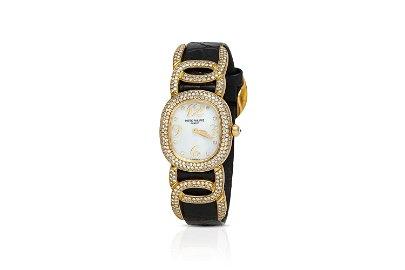 Authentic Patek Philippe Diamond Watch