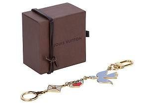Authentic Louis Vuitton Dove Love Letter Bag Chain