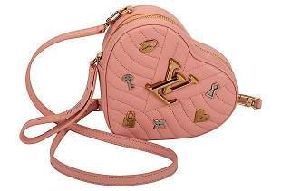 Authentic Louis Vuitton Pink Heart Clutch