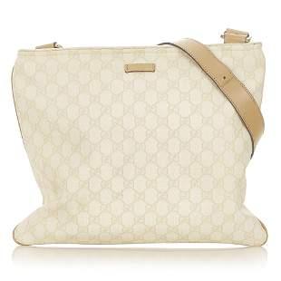 Authentic Gucci GG Supreme Crossbody Bag