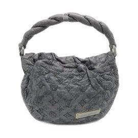 Authentic LOUIS VUITTON Nimbus PM Shoulder Bag Grey