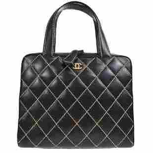 Authentic CHANEL Wild Stitch Hand Bag