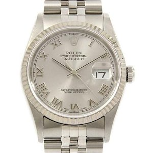 Authentic ROLEX 16234 Datejust SSxWG Automatic