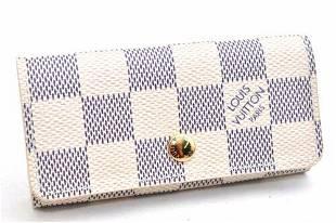 Authentic Auth Louis Vuitton Damier Azur Multicles 4
