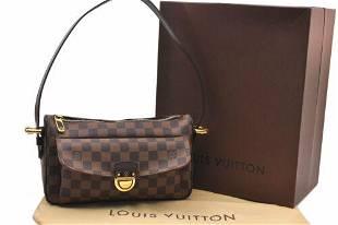 Authentic Louis Vuitton Damier Ravello GM Shoulder Bag
