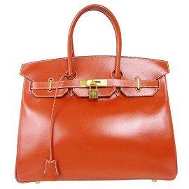Authentic HERMES BIRKIN 35 Hand Bag