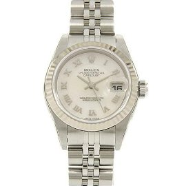 Authentic ROLEX 79174NRD Datejust SSxWG Automatic