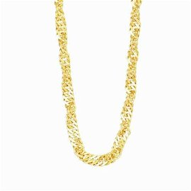 Authentic chain Necklace 18K YG 750