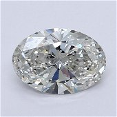 Loose Diamond - OVAL 1.01 CT  SI1 EX G