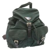 Authentic PRADA Backpack Nylon Khaki