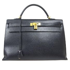Authentic HERMES KELLY 40 2way Hand Bag