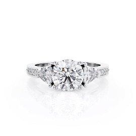 Diamond Ring  .3 Ct TCW Gold 4K 3.00 g
