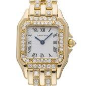 Authentic Cartier Panther de SM Restyle Diamond Ladies