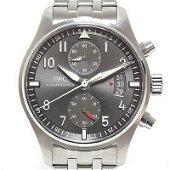Authentic IWC Pilot's Spitfire Chronograph IW387804