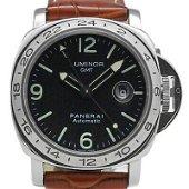 Authentic Panerai Luminor GMT PAM00023 Automatic Black