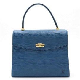 Authentic LOUIS VUITTON Epi Marzelb Handbag Leather