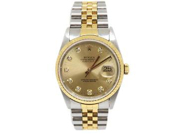 Authentic Rolex Oyster Perpetual Datejust Men's