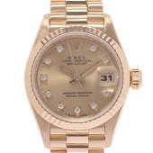 Authentic ROLEX Datejust 10P Diamond 69178G watch