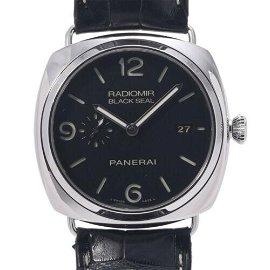 Authentic OFFICINE PANERAI Radiomir Black Seal 3 Days