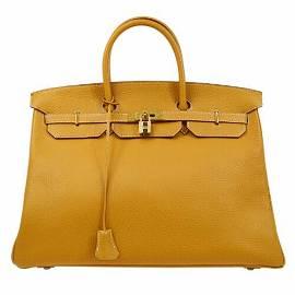 Authentic HERMES BIRKIN 40 Hand Bag