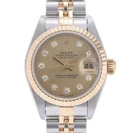Authentic ROLEX Datejust 10P Diamond 79173G watch