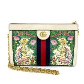 Authentic GUCCI (Gucci) Offidia chain shoulder bag