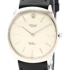 Authentic Rolex Cellini Mechanical White Gold (18K)