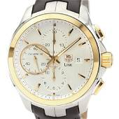 Authentic Tag Heuer Link Automatic Pink Gold