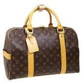 Authentic LOUIS VUITTON CARRYALL TRAVEL HAND BAG