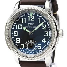 Authentic IWC Pilot Watch Mechanical Stainless Steel