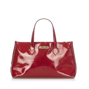 Authentic Louis Vuitton Vernis Wilshire PM