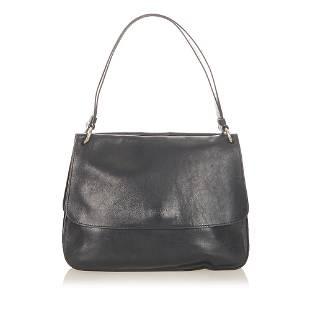 Authentic Prada Leather Shoulder Bag