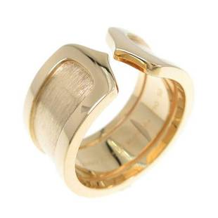 Authentic Cartier C2 Large Ring